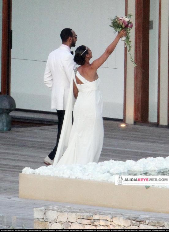 Свадебное платье Алисии Кейс   от Веры Вонг