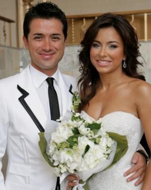 Свадебное платье Ани Лорак