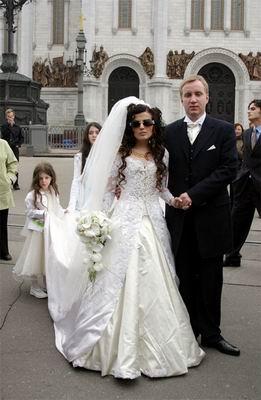 Свадебное платье  Дианы Гурцкой