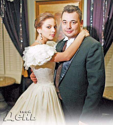 Свадебное платье  Регины Бурд