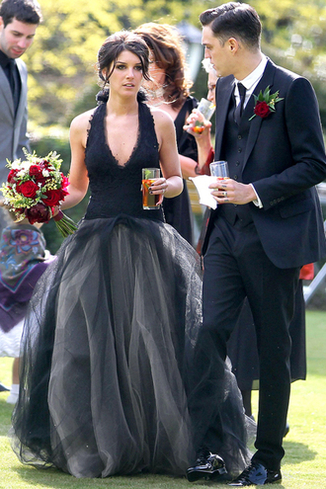 Свадебное платье Шенайи Граймс