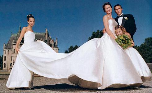 Свадебное платье Энди Макдауэлл