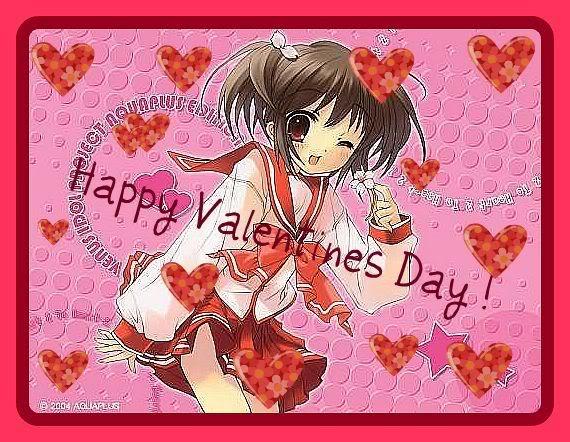 Аниме - День Святого Валентина (32)