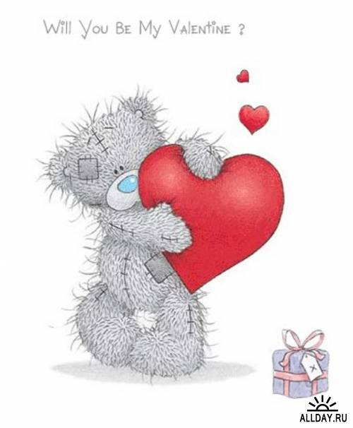 Открытки ко Дню всех влюблённых (19)