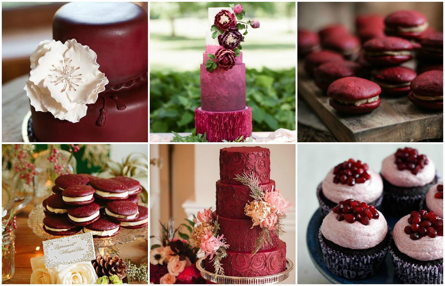 Свадебные десерты